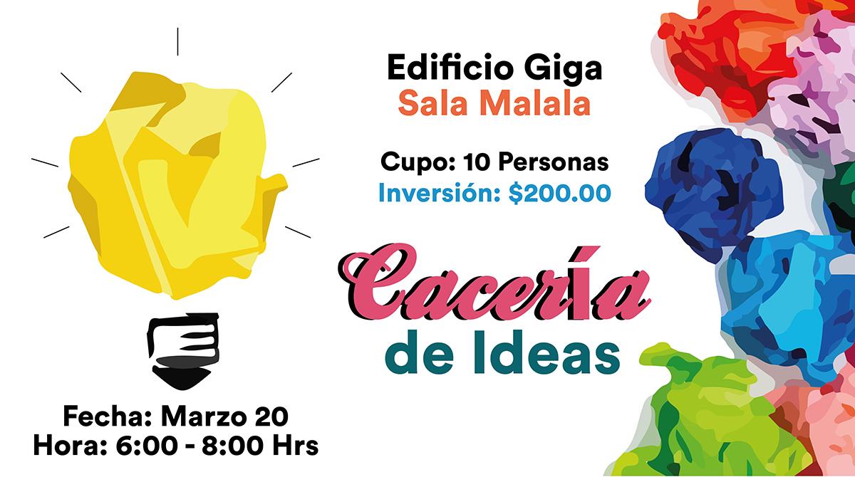 Workshop - ¡Cacería de Ideas!